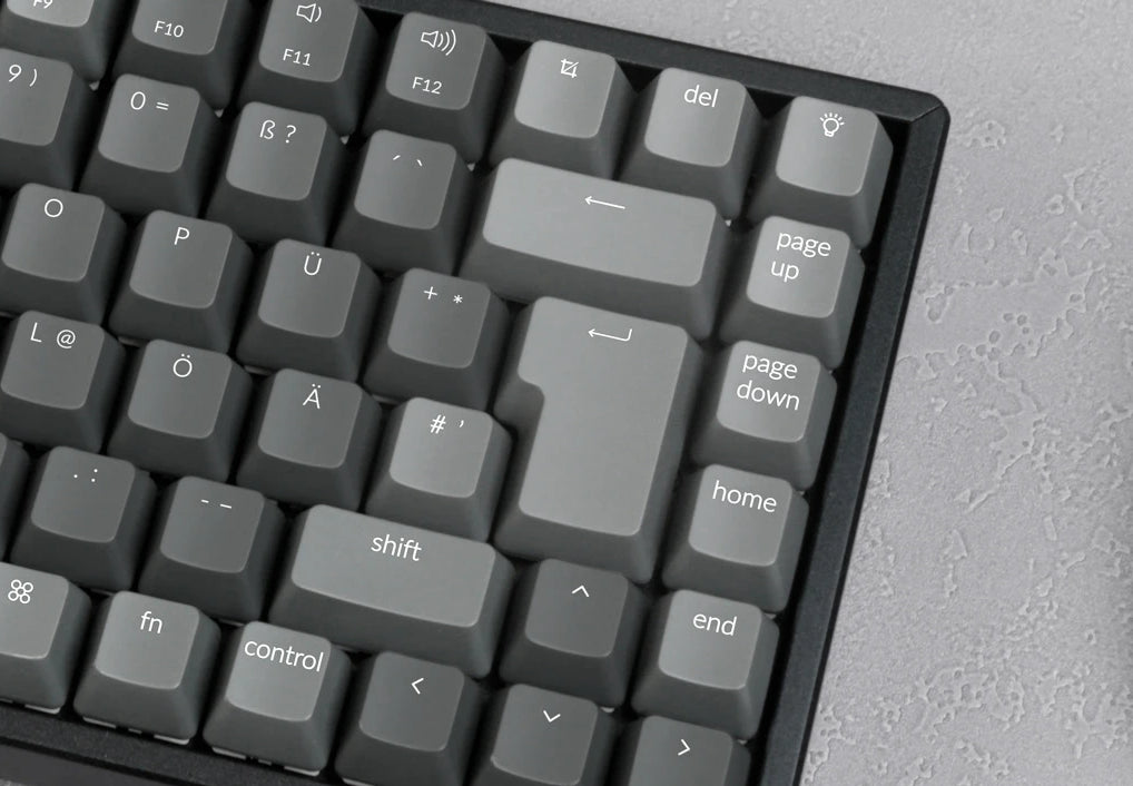 Keychron K2 Wireless Mechanical Keyboard German ISO DE QWERTZ Gateron switch Mac Windows keycap