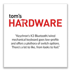 Keychron K2 wireless mechanical keyboard for Mac and windows covered by Uncrate