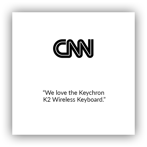 Keychron K2 wireless mechanical keyboard for Mac and windows covered by CNN