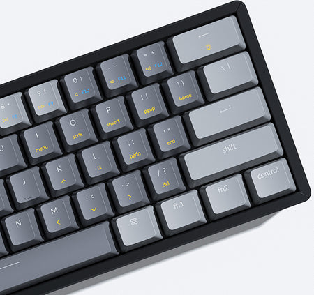 Keychron K12 ultra_Compact Hot_swappable wireless mechanical keyboard Mac Windows iOS Android Keychron Optical Gateron mechanical switch red blue brown 60percent layout