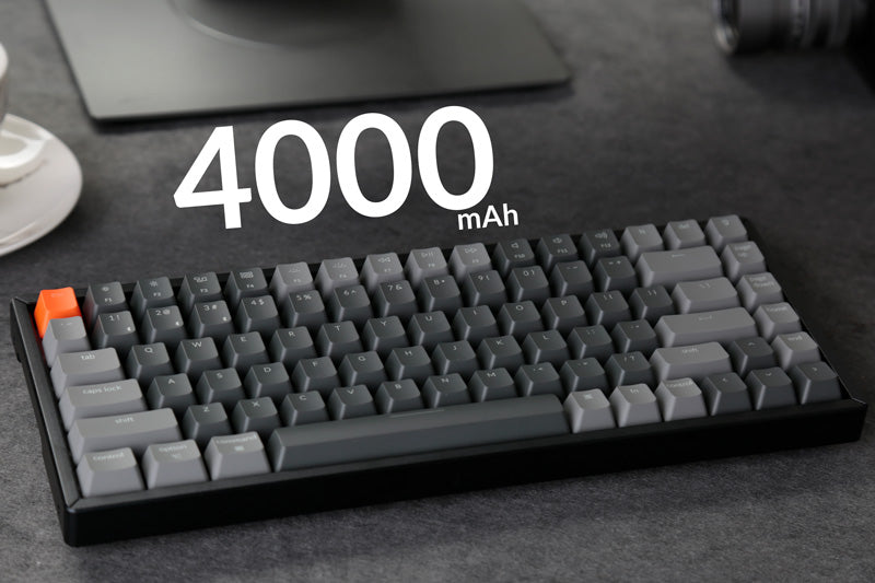 Keychron K2 wireless mechanical keyboard big battery 4000mAh