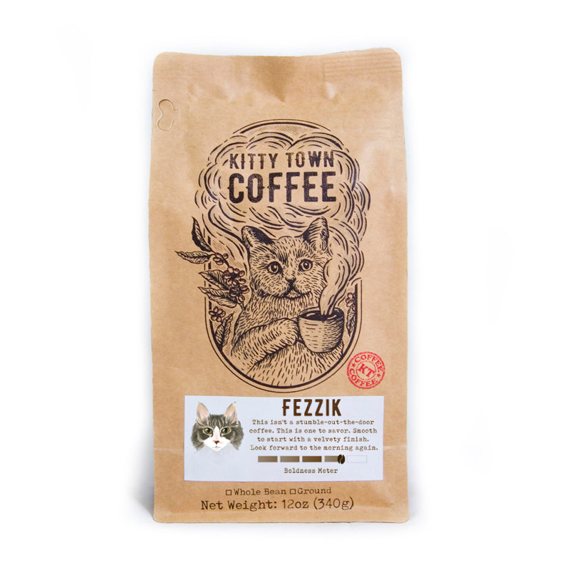 Fezzik: Medium-Dark Roast from Brazil
