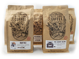 3 Month Coffee Subscription Gift with Cat Rescue Sponsorship