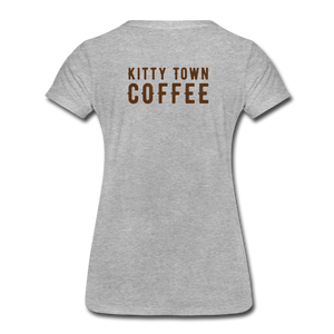 Kitten Me T-Shirt - heather gray