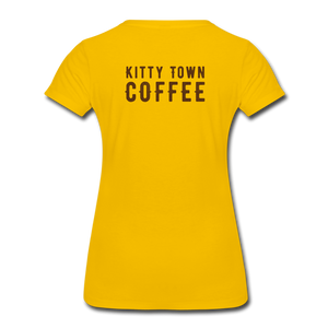 Kitten Me T-Shirt - sun yellow