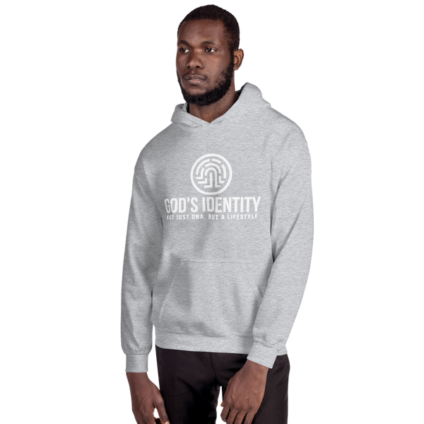 Women's & Men's God's Identity Not Just DNA, But A Lyfestyle Hooded Sweatshirt