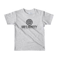 Boy's & Girl's God's Identity Not Just DNA, But A Lyfestyle Short sleeve kids t-shirt