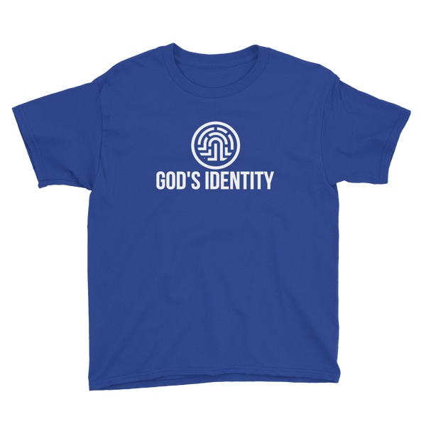 Boy's & Girl's God's Identity Not Just DNA, But A Lyfestyle Youth Short Sleeve T-Shirt