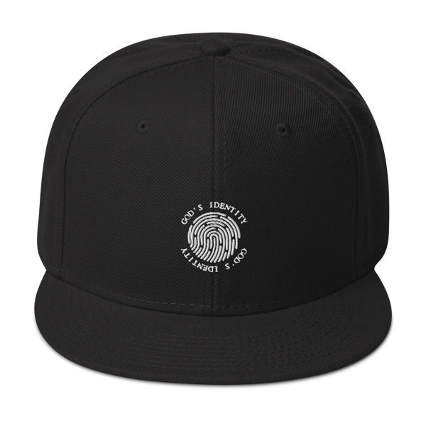 Snapback Hat God's Identity New Logo