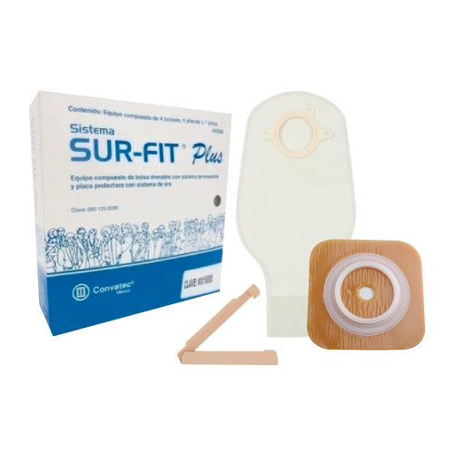 ConvaTec Sur-Fit Plus Equipo de colostomía e Ileostomía de 70 MM