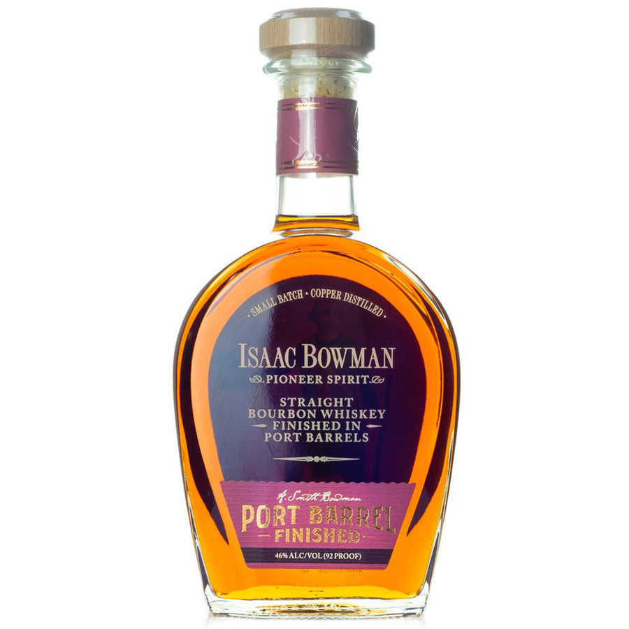 Isaac Bowman Port Finish Bourbon 750ml
