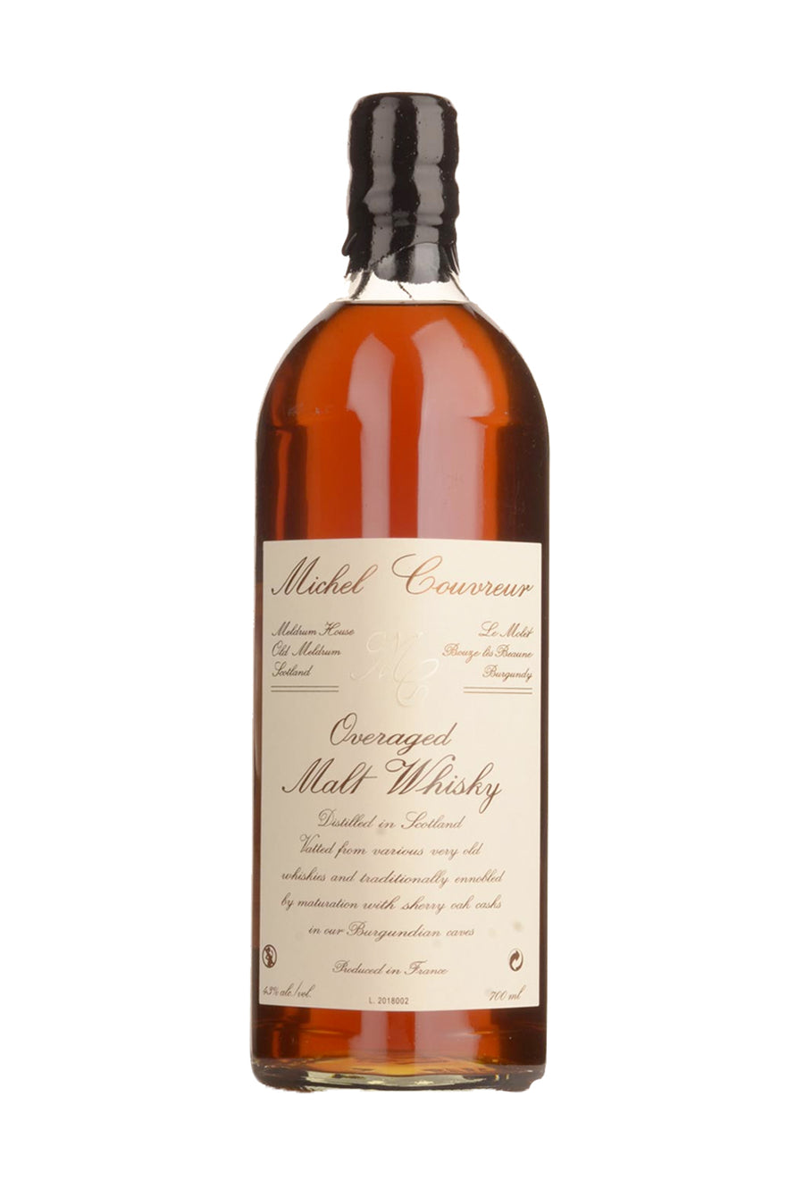 Michel Couvreur Overaged 12 Year Old Scotch Whiskey