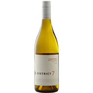 District 7 Chardonnay Estate Vineyards Monterey County 2017