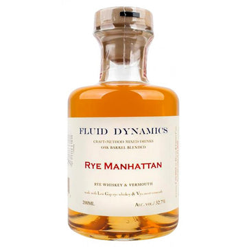 Fluid Dynamics Rye Manhattan Cocktail