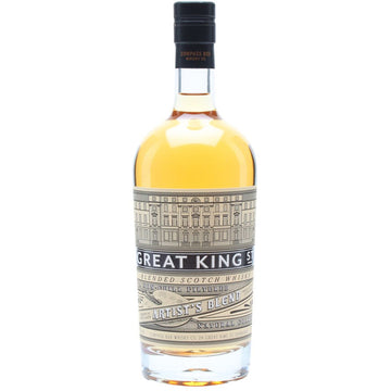 Compass Box Whisky Great King Street Artist's Blend Blended Scotch Whisky