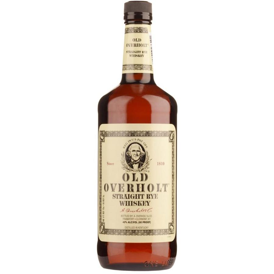 Old Overholt Straight Rye Whiskey 1 liter
