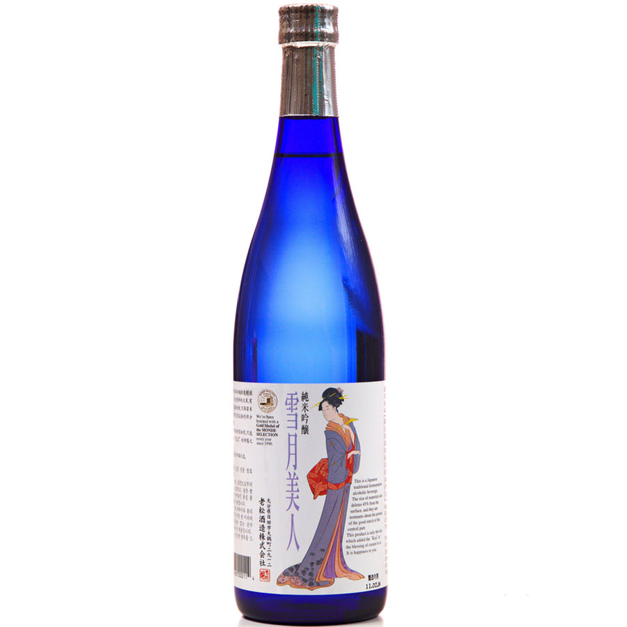 Snow Moon Junmai Ginjo Sake 720ml