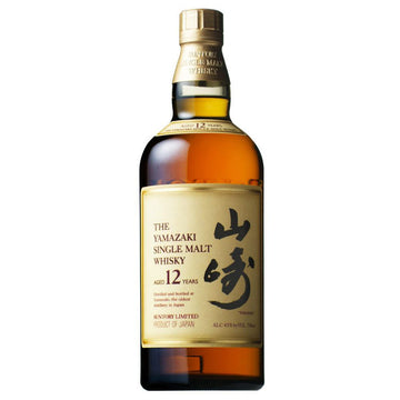 Yamazaki Single Malt Japanese 12 Year Whisky