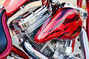 8 Ideas For Your Custom Motorcycle Paint Job