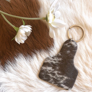 'CATTLE TAG' Keychain #0024