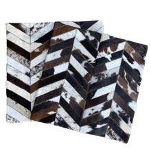 Load image into Gallery viewer, Chevron Cushion Cover - Brown