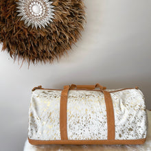 Load image into Gallery viewer, 'LAGUNA' Duffle Bag #001 - GOLD