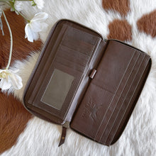 Load image into Gallery viewer, 'BLISS' Wallet #007 - BROWN