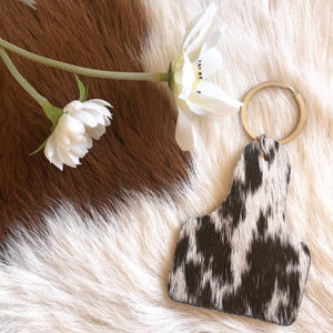 'CATTLE TAG' Keychain #002