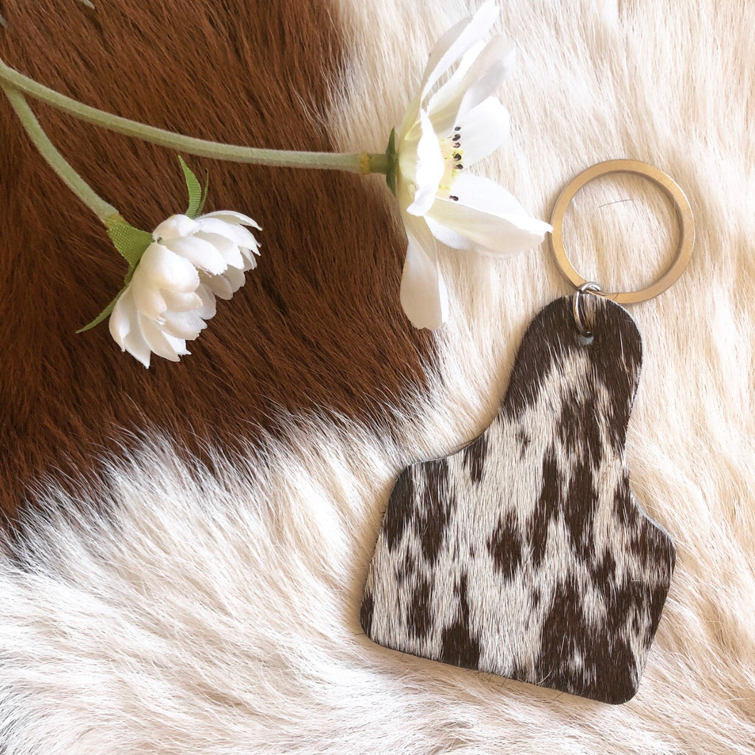 'CATTLE TAG' Keychain #009