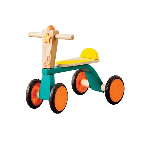 B. Toys Smooth Rider Wooden Toddler Trike