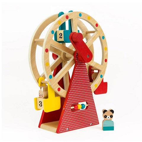 Petit Collage Wooden Ferris Wheel Carnival Play Set