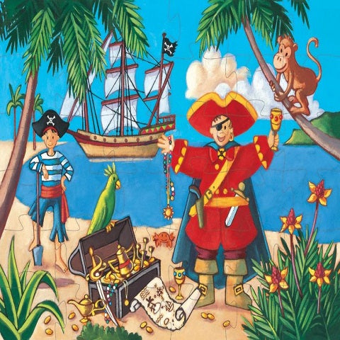 Djeco Pirate and His Treasure Puzzle