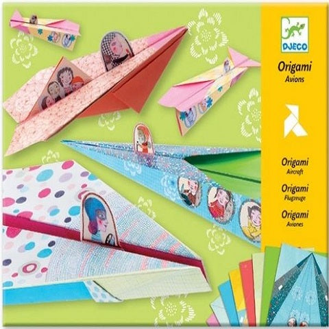 Djeco Origami Airplanes, Girls