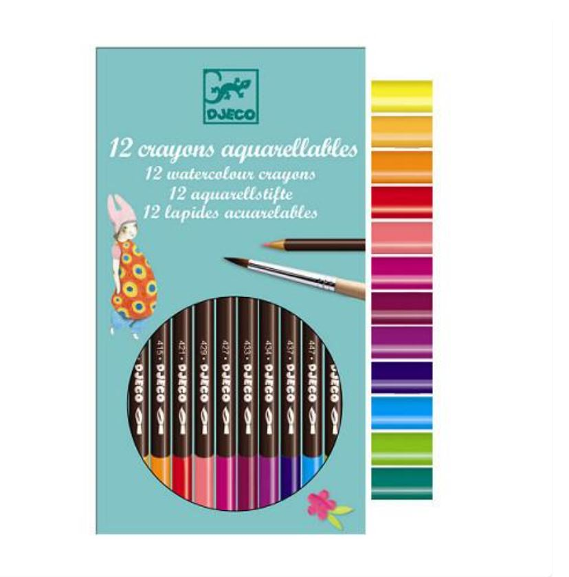 Djeco 12 Colored Pencils