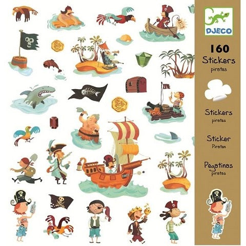 Djeco Pirate Stickers