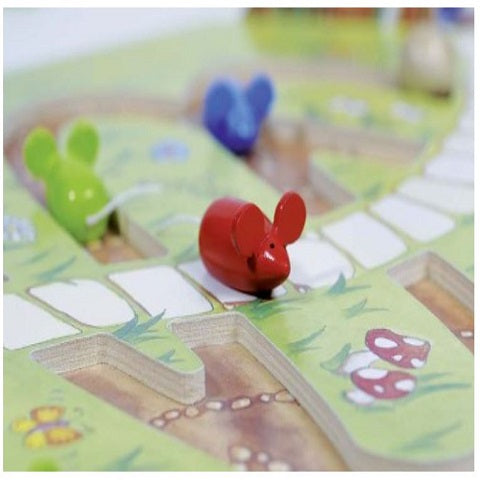 Goki Mouse Moves House Board Game