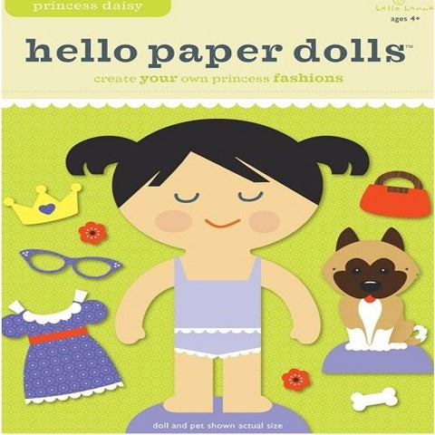 Hello Paper Dolls Princess Daisy