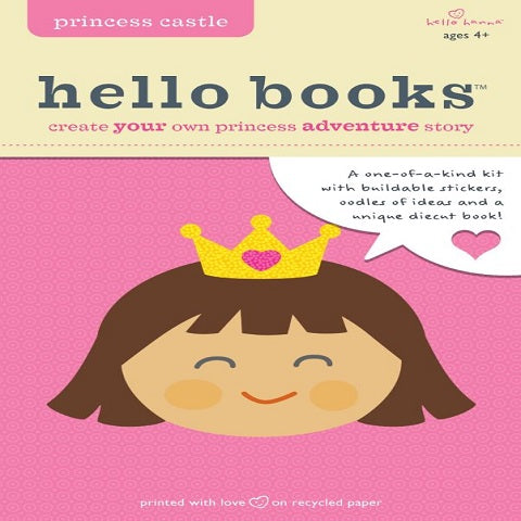 Princess Castle Hello Books