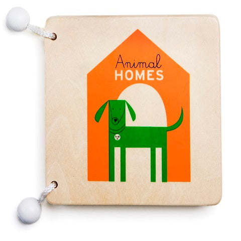 Kid O Animal Homes Wooden Book