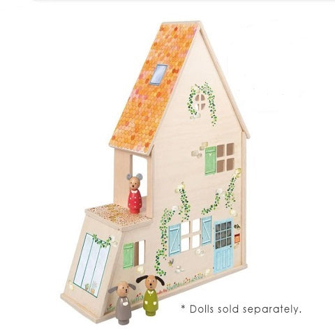 Moulin Roty La Grande Famille Dollhouse with Furniture