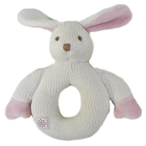 Organic Knitted Baby Teether