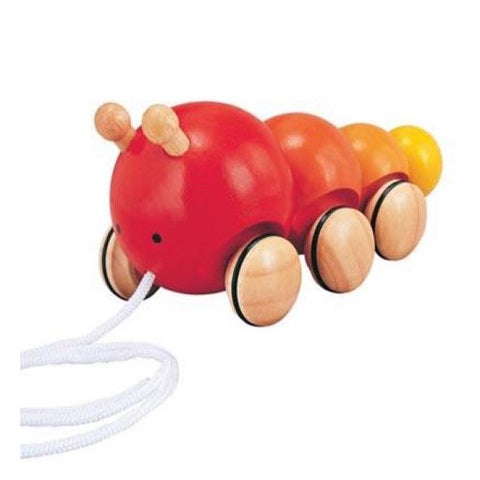 Plan Toys Pull Along Caterpillar