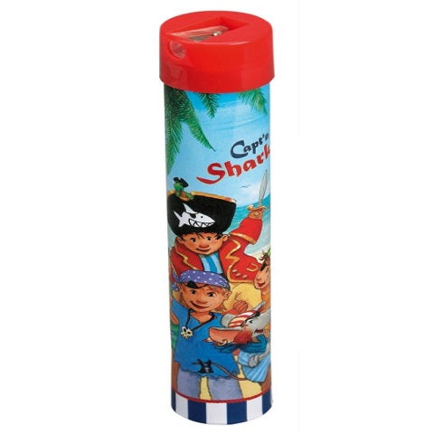 Capt'n Sharky Pencil Crayons & Sharpener Set