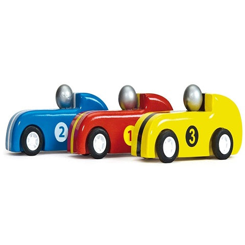 Le Toy Van Pullback Racers Set of 3