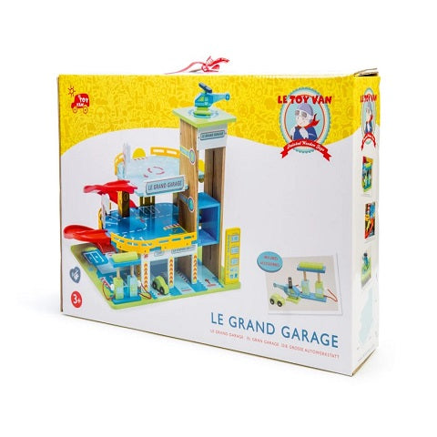Le Toy Van Honey Baked Le Grande  Car Garage