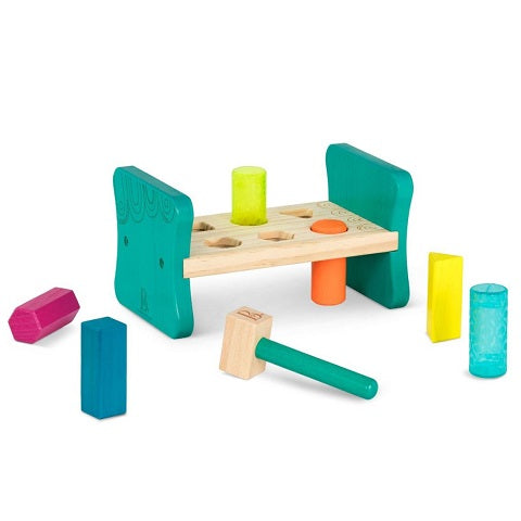 Colorful Wooden Pound & Play