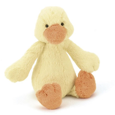 JellyCat Bashful Yellow Duckling, Medium