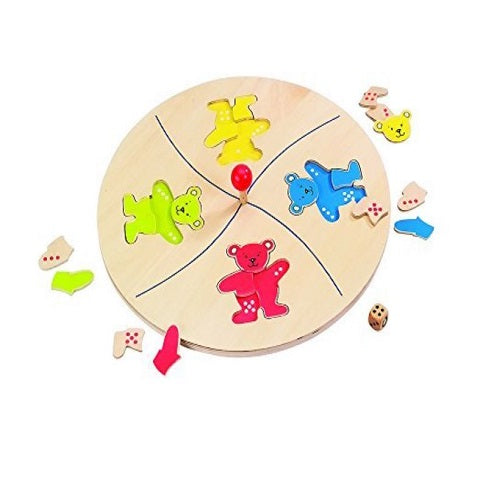 Goki Bears' Merry Go Round Game