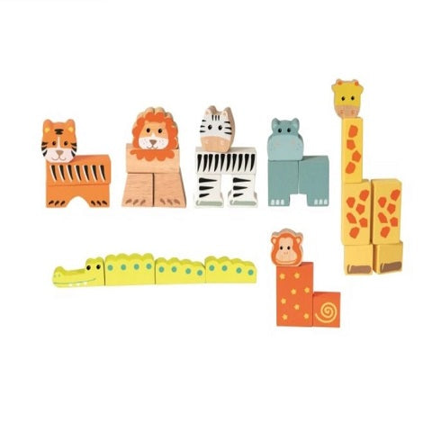 Egmont Toys Animal Blocks in a Case
