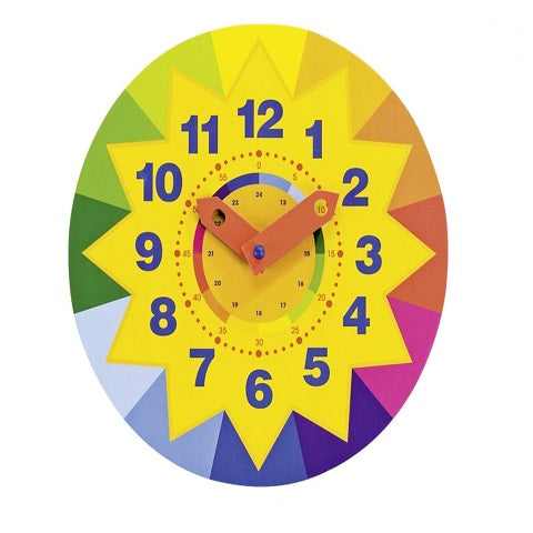 Goki Clock Sun Learn To Tell The Time